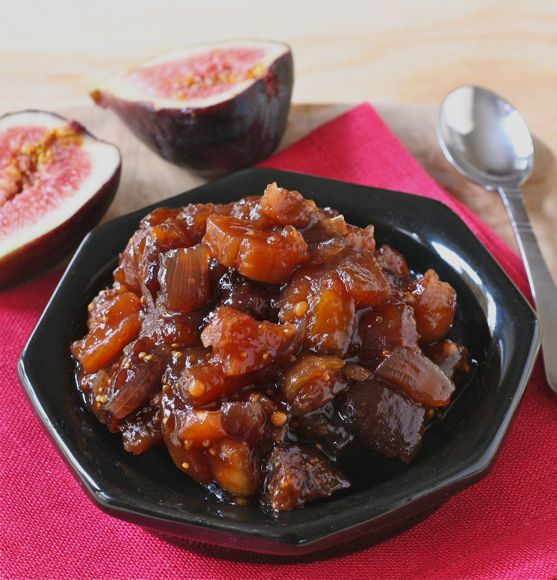 Here-Comes-Fall Fig Chutney - with figs, brown sugar & pomegranate ...