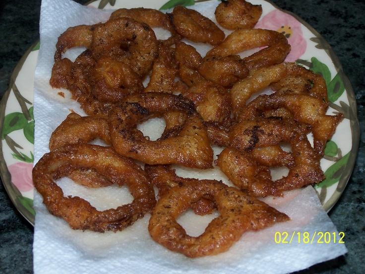 Buttermilk Batter-Fried Onion Rings   Appetizers   Pinterest