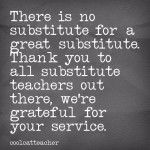 substitute teacher thank you | just b.CAUSE