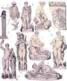 12 - Generalmente se repiten las figuras - en el ámbito de la mitología mundial - el heraldo tiene la apariencia de un hombre joven, apuesto, bueno, que realiza diligentemente la tarea de transmitir información y entendimiento entre el mundo mágico y la realidad terrenal.