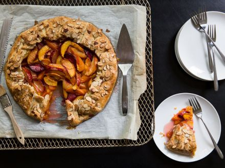 Stone Fruit Galette | Recipes to Try|Desserts | Pinterest