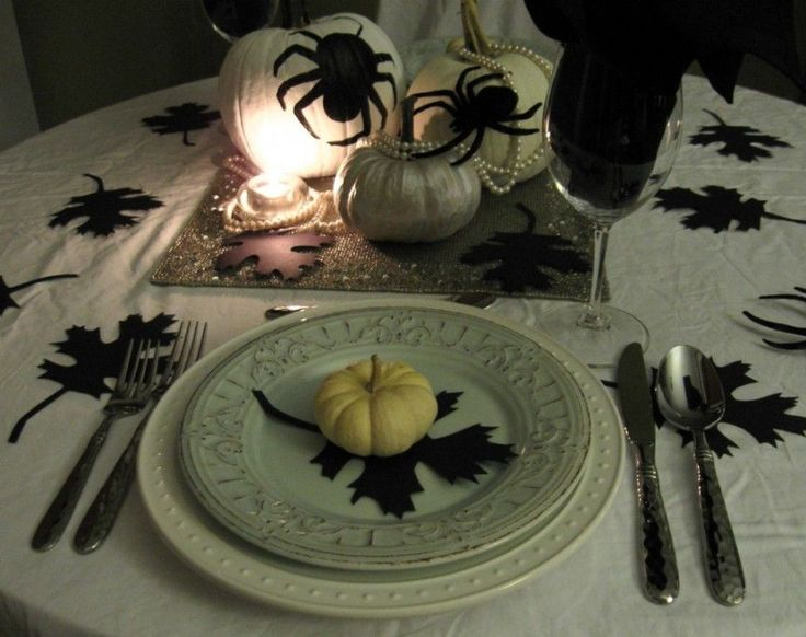 Elegant Halloween Party Halloweeeen Pinterest