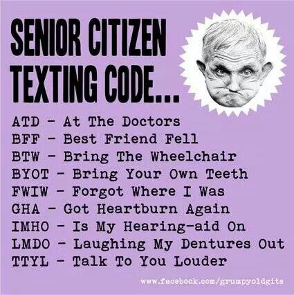 Senior Citizen Quotes And Sayings. QuotesGram