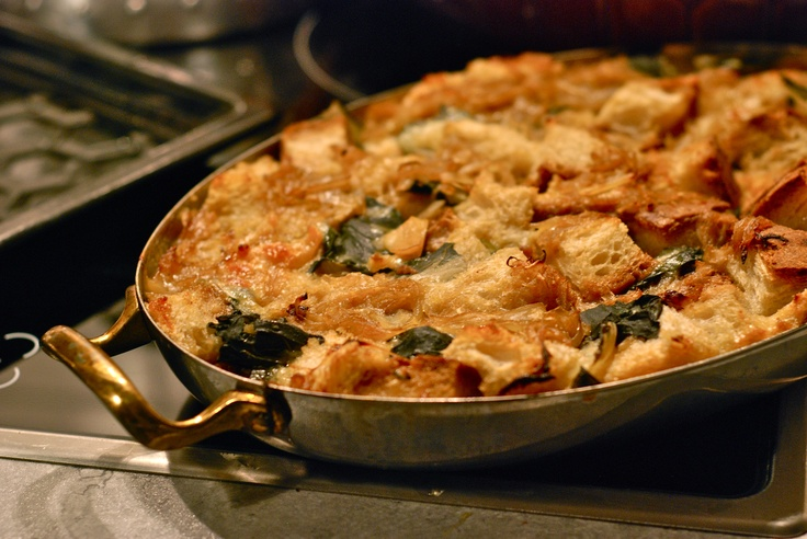 Bread Soup (Panade) With Onions, Chard, And Mushrooms Recipes ...