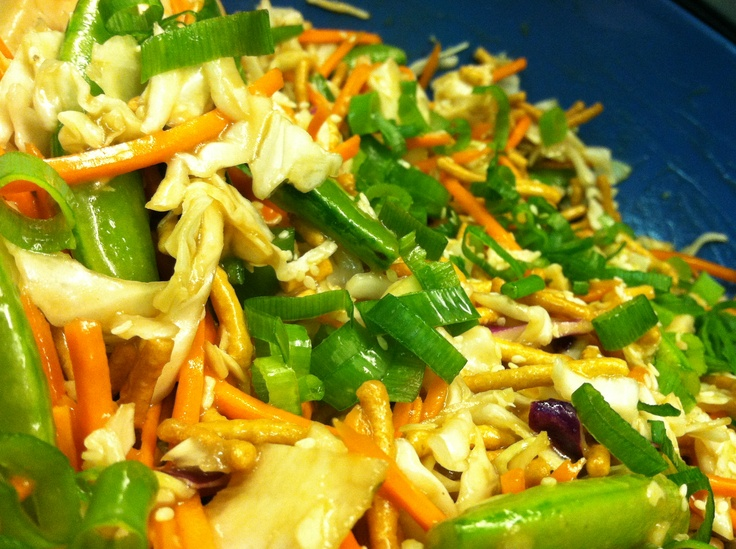 Asian Crunchy Salad | Julie Pins! | Pinterest