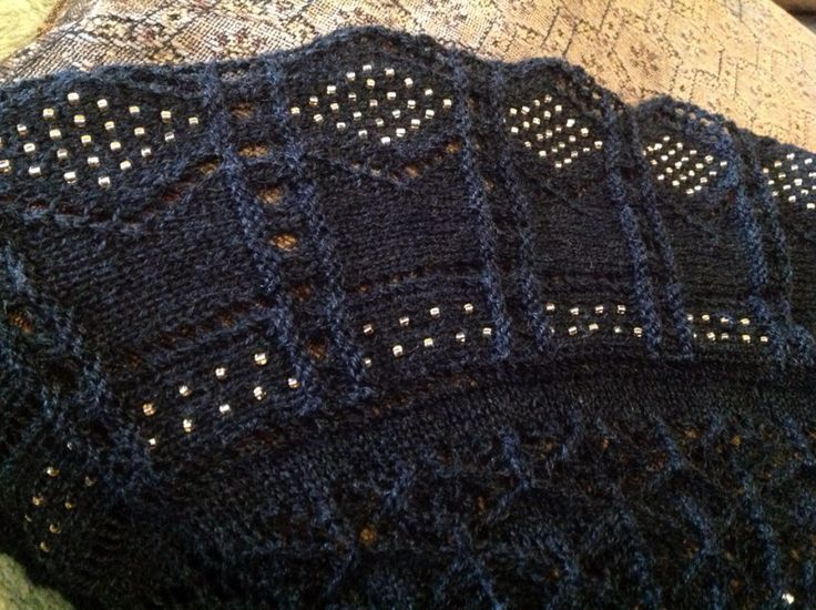 Knitted Lace Edging Patterns : Pin by Joanm 001 on knit lace edging Pinterest