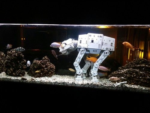 fish tank decorations star wars star wars fish tank. Black Bedroom Furniture Sets. Home Design Ideas