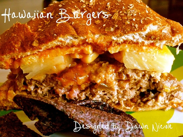 Hawaiian Burgers | Dawn Nicole - tuesday