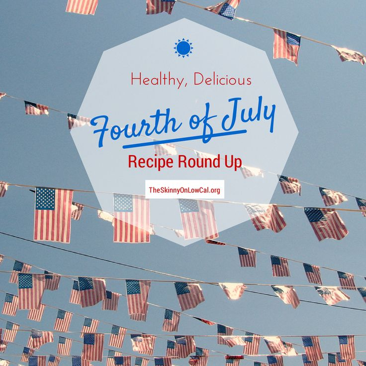 low calorie july 4th desserts
