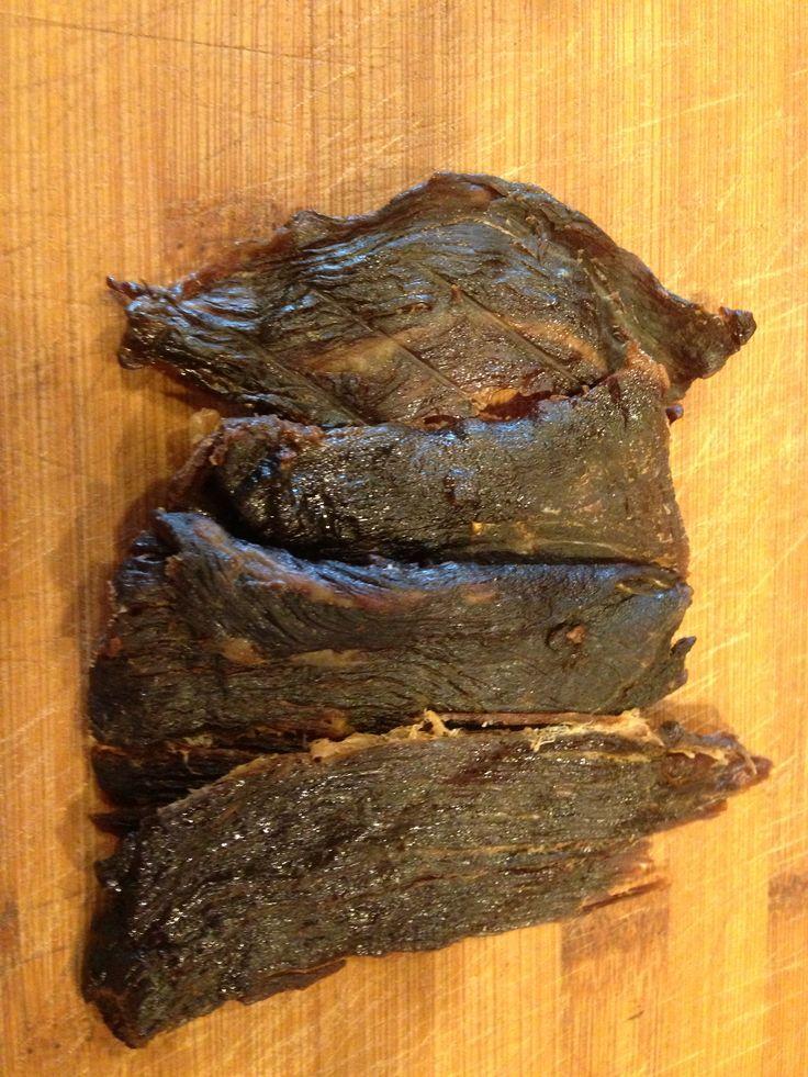 Homemade beef jerky | Damn! We made that! | Pinterest