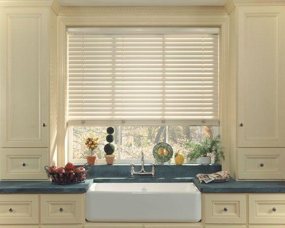 Remote kitchen window blinds