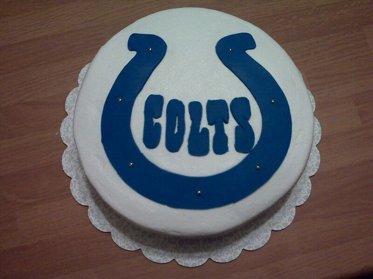 colts birthday cake