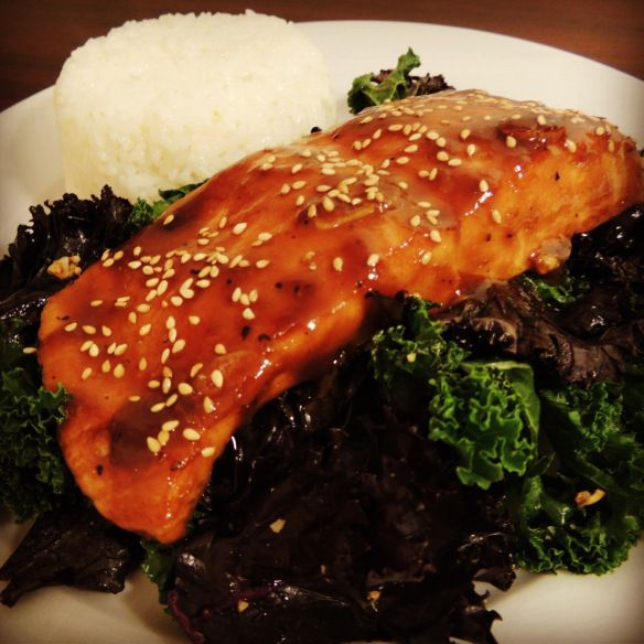 Miso Ginger Glazed Salmon | Food and Drank | Pinterest