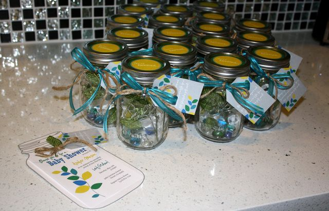 mason jar invites for a baby shower masonjar babyshower