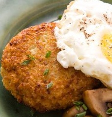 parmesan quinoa cakes, used 5 garlic cloves minced, 2tsp salt and next ...