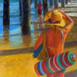 """The Beach Hat"" by Rich Brimer"