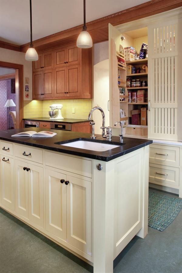 Craftsman Style Kitchen Interior Spaces Pinterest