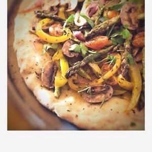 Lydia's Gluten-Free Pizza Dough from Gluten-Free Goddess (Gluten Free)