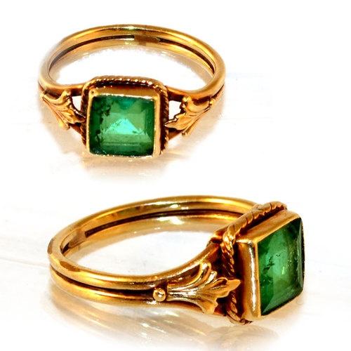 14k emerald ring ebay jewelry
