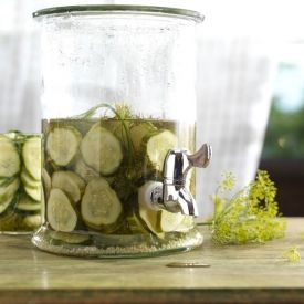 ... more satisfying (and easy) then making homemade Kosher Dill pickles