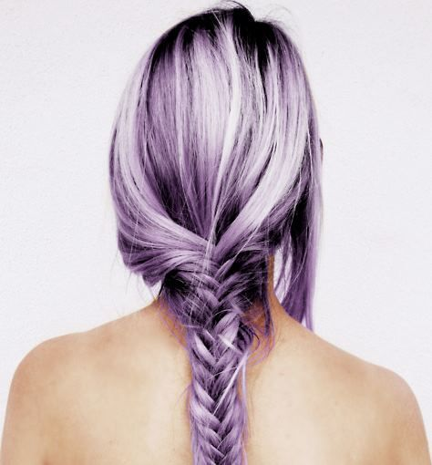 Pastel hair color love the lavender!