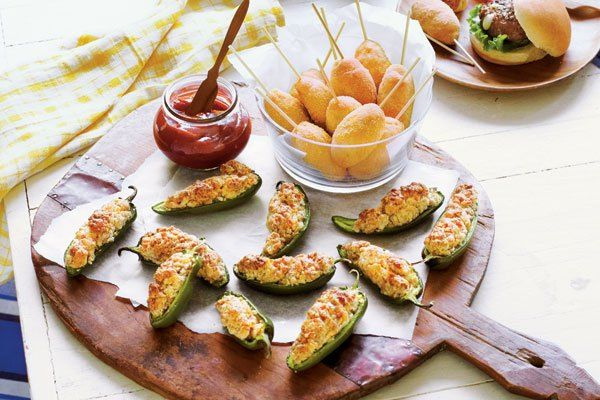 Sausage Poppers and Mini Corn Dogs Perfect for Football Sundays!