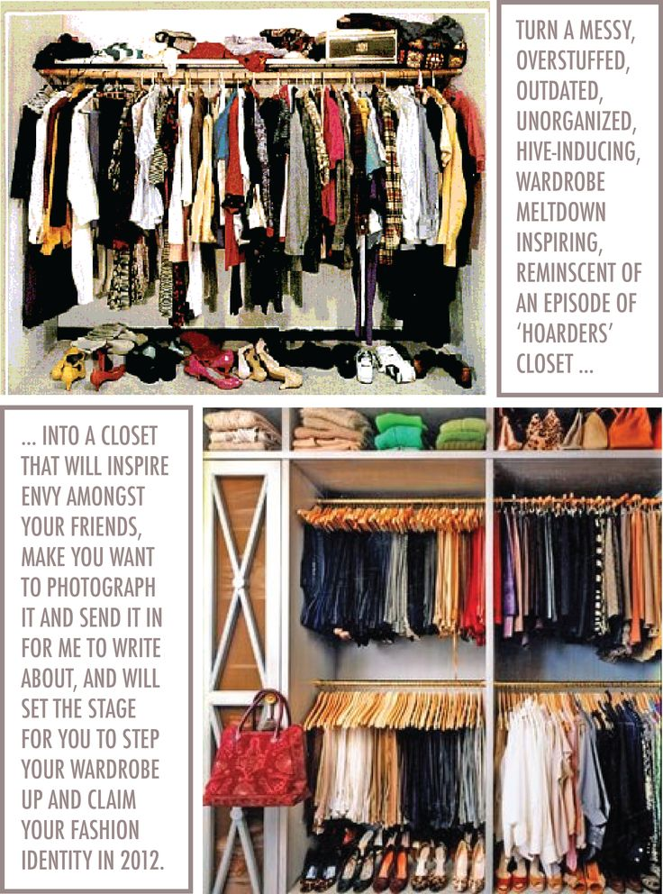 Wardrobe closet how to clean out your wardrobe closet for How to clean and organize your closet