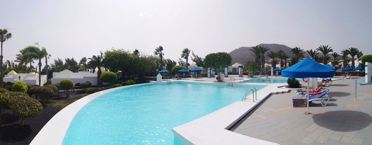 #Pool #summer #Lanzarote Marconfort Atlantic Gardens Bungalows www.marconfort.com