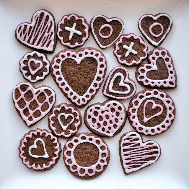bake!: Brownie Roll-Out Cookies | Sweet like Shuga | Pinterest