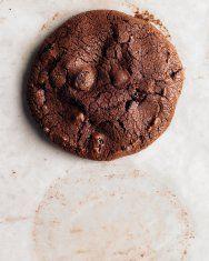 Flourless Double-Chocolate Pecan Cookies   Recipe