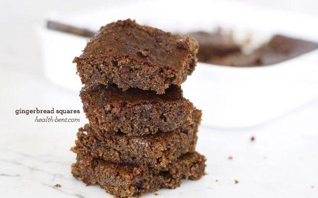 Gingerbread Squares | Paleo Recipes | Pinterest