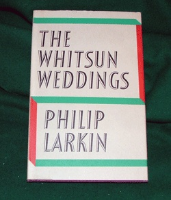 the whitsun weddings essay There are, however, a few poems in the whitsun weddings collection where a philos ophical speculation or comment is more direct and explicit larkin: essay questions 1 what are the distinctive qualities of larkin's po etry refer to a number of poems in your answer.