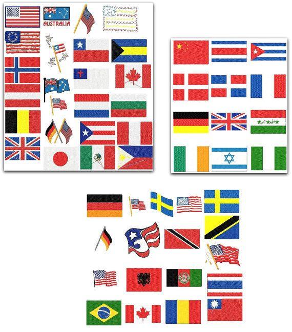 amercian flags