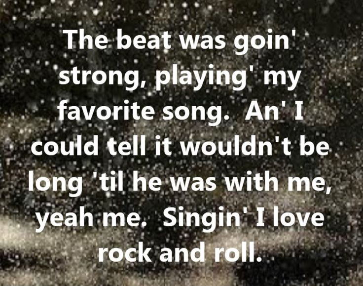 Quotes about rock music?