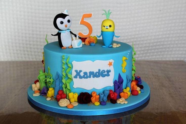 Cake Decoration Ideas Pinterest : Octonauts Cake cake decorating ideas Pinterest