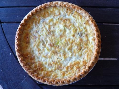 Leek, bacon and gorgonzola quiche | Mangiarmi (Eat me) | Pinterest