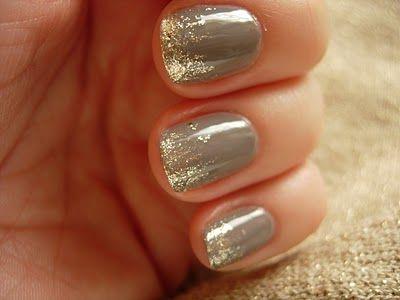 Fancy nails.