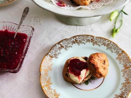 Mini Cherry Scones Recipe