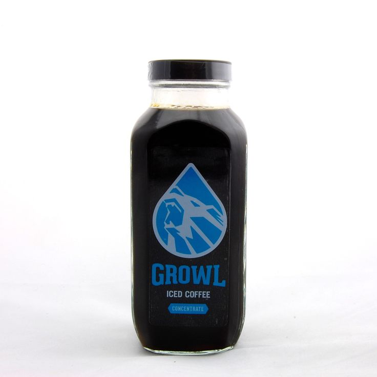 Growl Cold Brew Coffee Concentrate | I Love Coffee | Pinterest