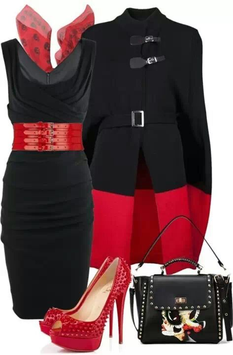 Red & Black, www.lolomoda.com