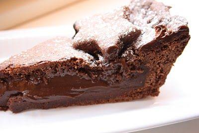 Crostata con crema cioccolato e caffè