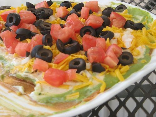 Seven Layer Tex-Mex Dip | 🍴 Recipes I can't wait to try 🔪.how ...