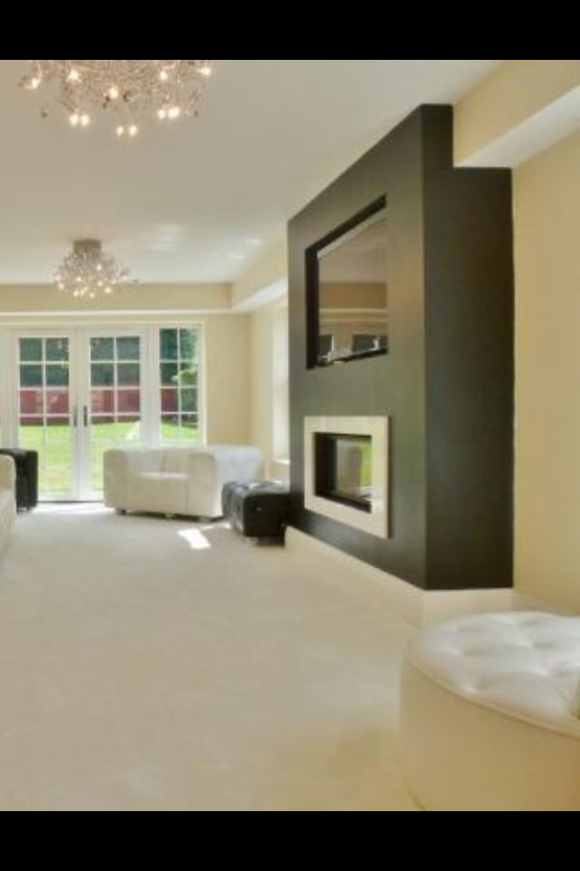 Recessed Tv Family Rooms Pinterest