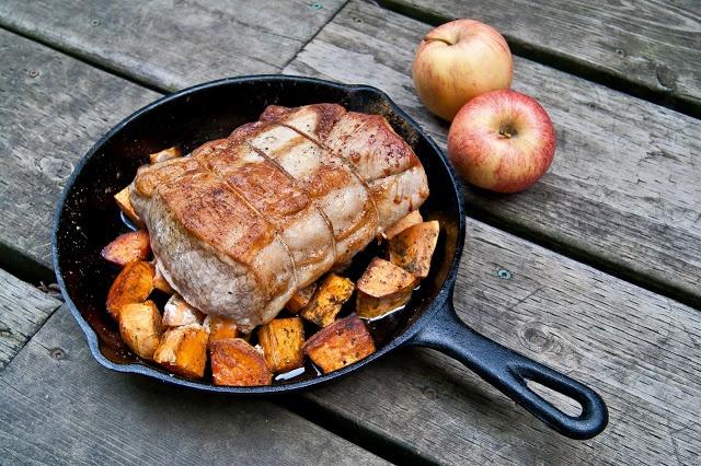 Kitchen Historic: Baked Tenderloins and Baked Sweet Potatoes (1886)