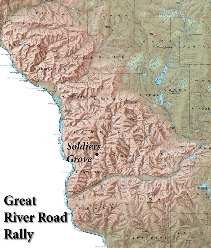 Southwest Wisconsin Driftless Area  The Driftless Area