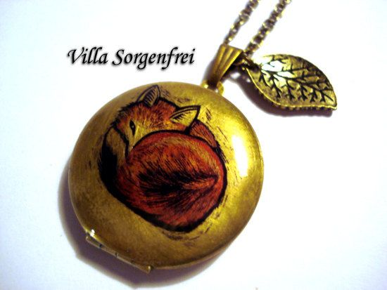 fox locket, also another possibility for my friend