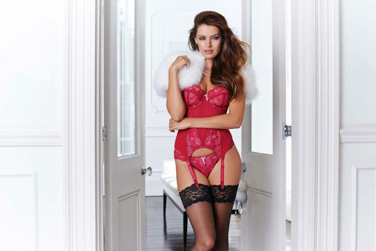 Pour Moi? Amour Basque www.figleaves.com #lingerie #christmas