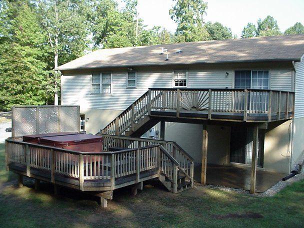 Multi Level Patio Decks : multi level deck  For the Home  Pinterest