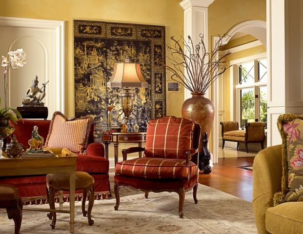 Rich colors living room for the home pinterest