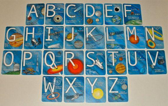 solar system alphabet - photo #1